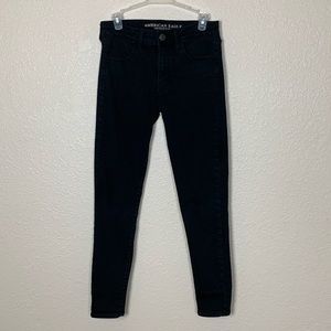 AEO | Black Regular Skinny Jeans